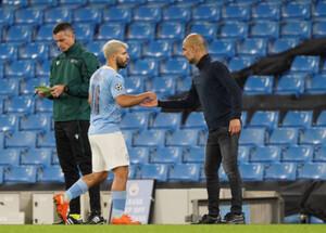 펩 과르디올라 맨체스터 시티 감독 인 세르지오 아게는 교체 계약을하지 않을 수 있습니다.